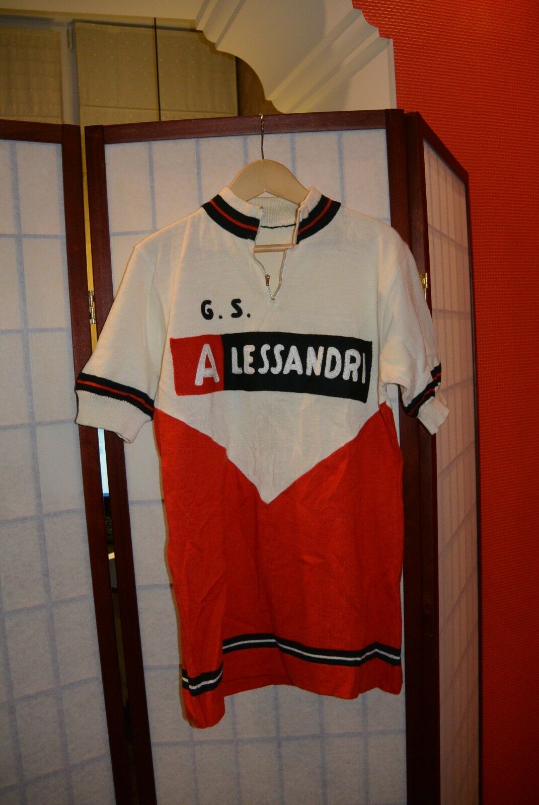G.S. Alessandri  60's old vintage cycling jersey S-M  sale online discount low price