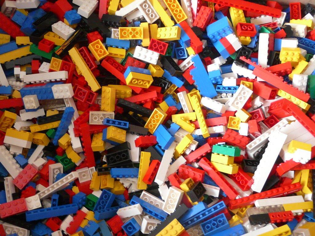 1250g. Lego Basicsteine, nur Basic Bausteine zum Bauen im Top Zustand Sauber