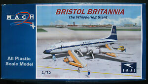MACH-2-GP086-BRISTOL-BRITANNIA-BOAC-1-72-Flugzeug-Modellbausatz-Model-Kit
