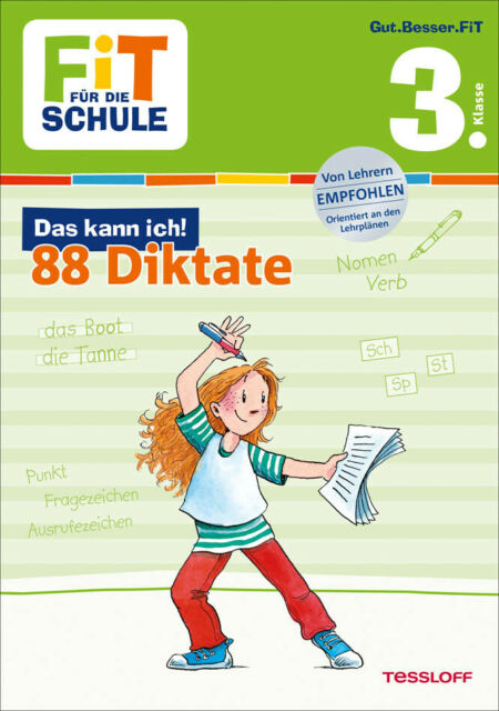 Andrea Essers - Das kann ich! 88 Diktate, 3. Klasse