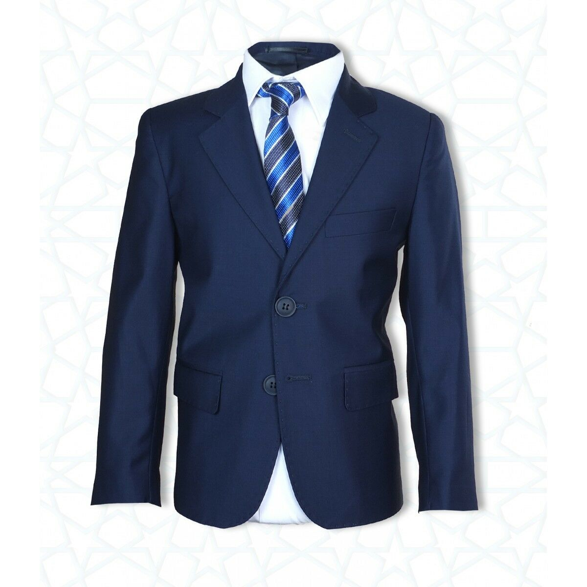 Boys Formal Dress Wear Navy Blue Suit Page Boy Wedding
