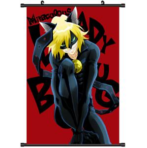 B3145 Miraculous Ladybug Chat Noir Anime Manga Wallscroll