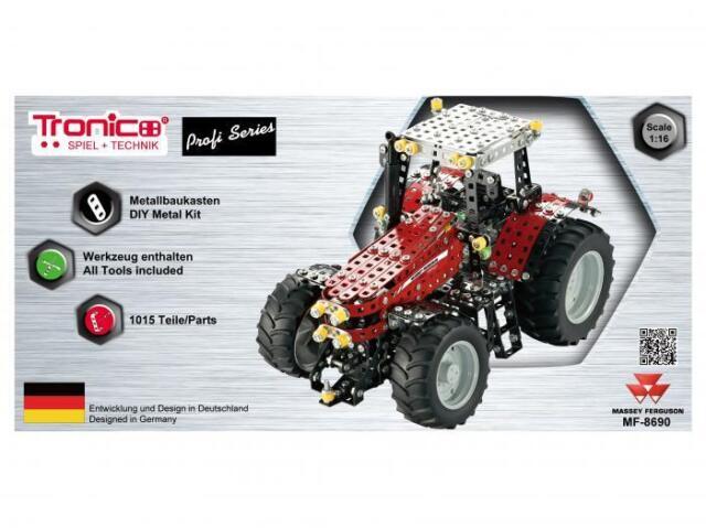 Baukästen & Konstruktion Tronico Profi Series Massey Ferguson MF-8690 Traktor 10080  ab 12 Jahren