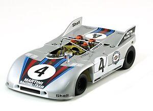 Porsche 908/03 N ° 4 Nürburgring 1971 Marko Van Lennep Autoart 87181 1/18 Martini