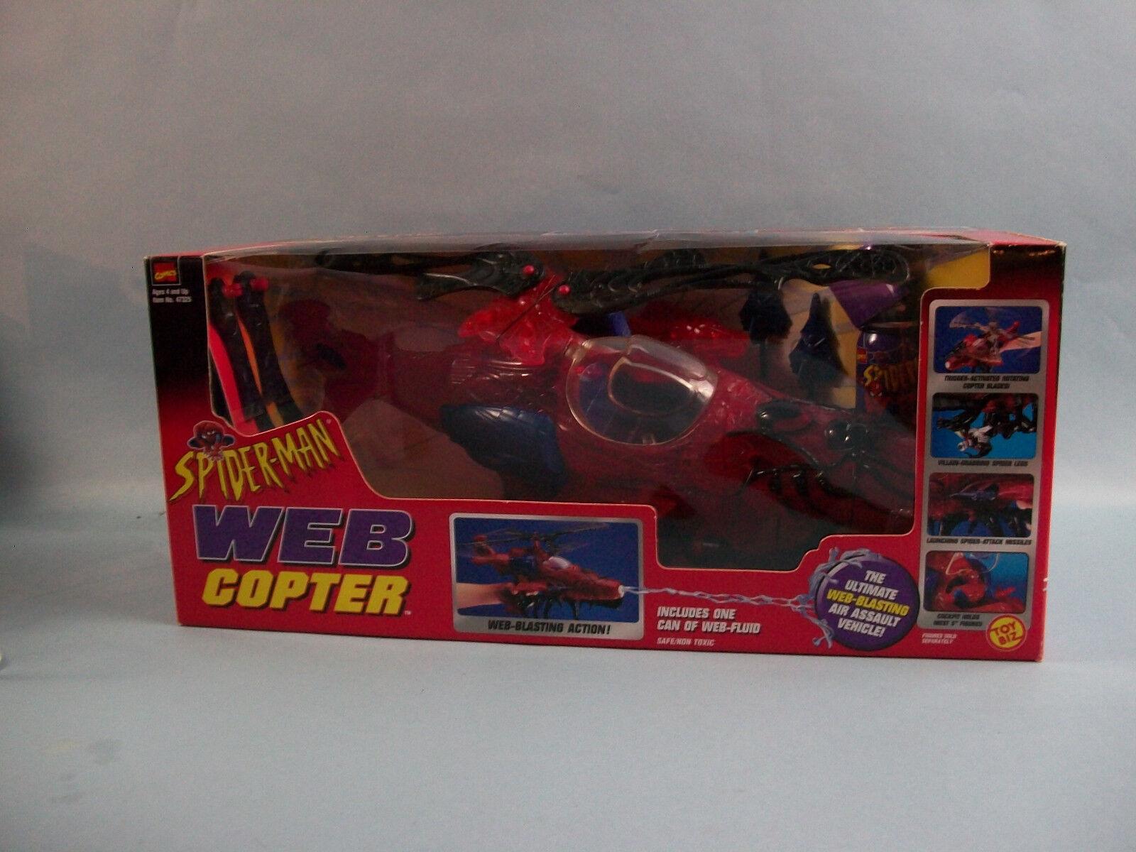 Marvel - comics spider - man - hubschrauber toybiz siehe punkt beschreibung