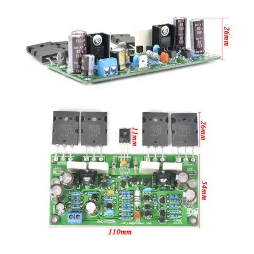 Assembled Board Bass Gun 200W 8R Mono Amplifier w// Toshiba A1943 C5200 L20SE
