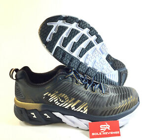 NEW Hoka One One Mens Ultra Marathon Running Shoes Arahi Midnight ... bf5762104de