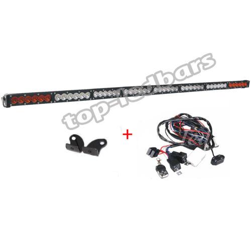52 inch 240W LED Work Light Bar SPOT FLOOD Off road BOAT 4WD ATV SUV Truck 50/'/'