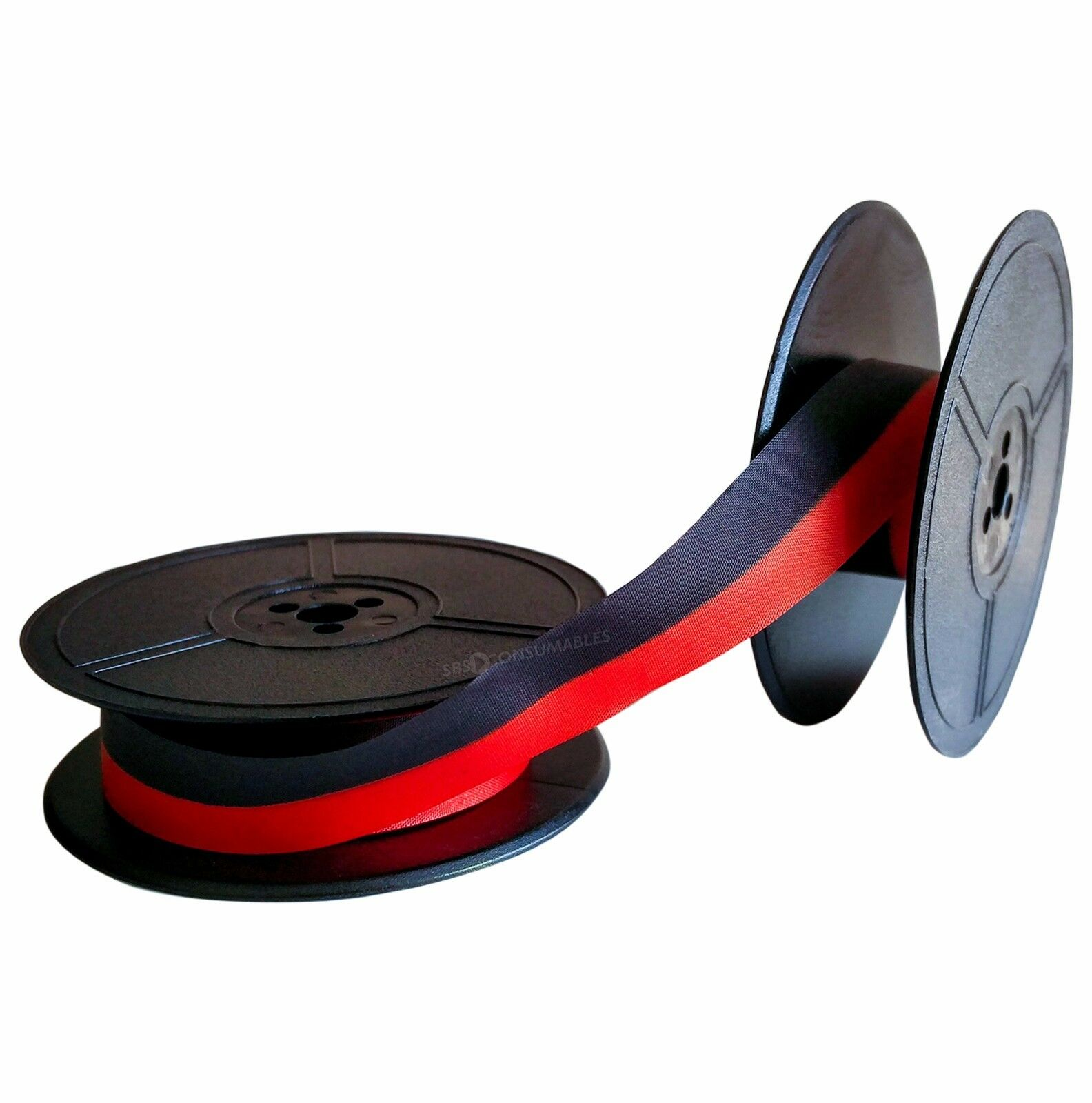 TWIN SPOOL 1001FN-GROUP 1-DIN2103 *RED//BLACK* HIGH QUALITY  TYPEWRITER RIBBON