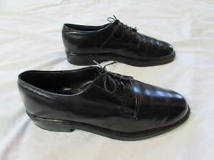 Vtg 60s Sears V Cleat Leather Dress