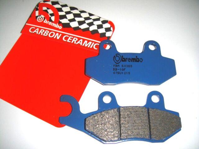 Rear Brake Pads Brembo Blue Carbon Triumph Bonneville 865 T100 2009