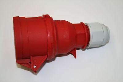 Cecon Stecker 072860 Stecker PCE schraubenlos 400V 16A 3P+N+PE Kupplung