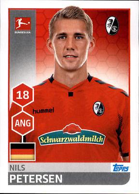 2019 Neuestes Design Topps Bundesliga 2017/2018 - Sticker 92 - Nils Petersen