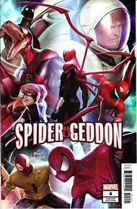 Spider-Geddon-4-IN-HYUK-LEE-Variant-Spider-man-Marvel-Comic-1st-Print-2018-NM