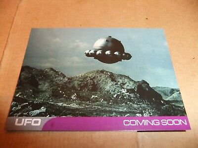 Unstoppable 2018 Christmas Set Gerry Anderson UFO Series 2 PROMO CARD PR1