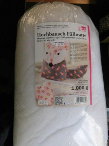 Füllwatte Hochbausch trocknergeeignet Füllmaterial Kissen Teddy  in 3 Größen