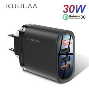 KUULAA-Quick-Charge-3-0-USB-Charger-30W-QC3-0-QC-Fast-Charging-Multi-Plug