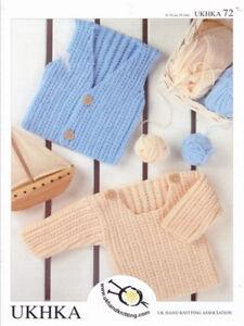 9aca1cdcb Baby DK Double Knitting Pattern Childrens Boys Waistcoat Sweater ...
