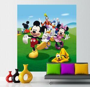 Details zu Mickey Mouse wall mural wallpaper children\'s bedroom PREMIUM  Disney Minnie