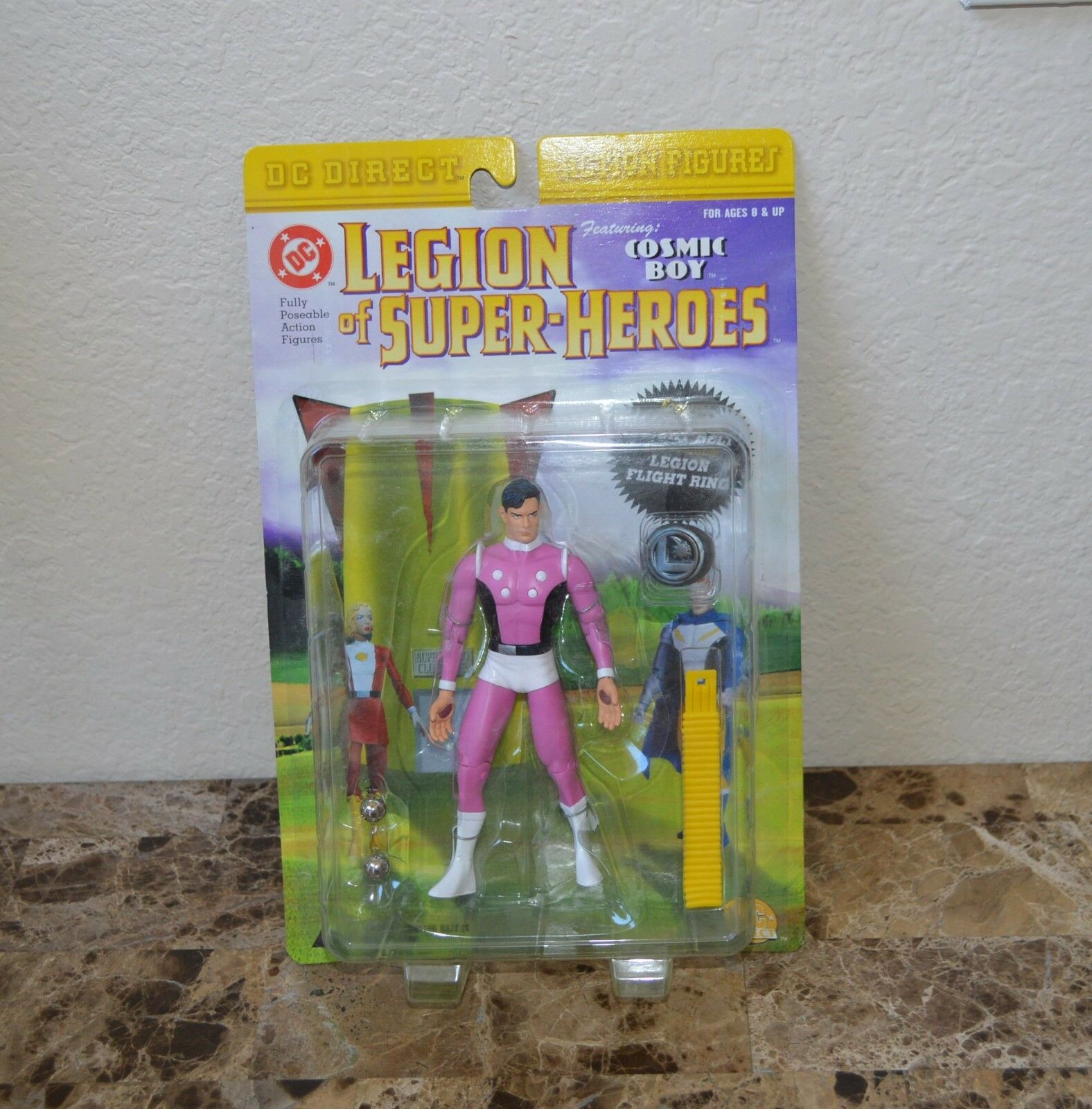 2001 DC Direct Legion Of Super-Heroes - Cosmic Boy Action Figure