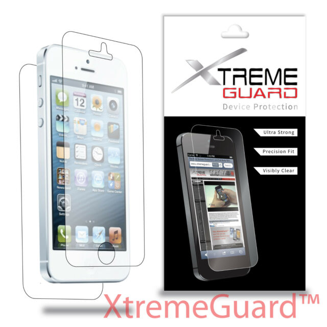 XtremeGuard LCD FULL BODY Screen Protector Skin Cover Shield For Apple iPhone 5S