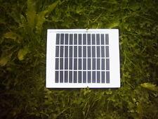 Panel Solar Enmarcado 12V3.6W, ideal para cargar baterías de 8.4V y 9V