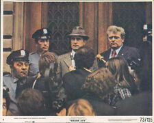 Eddie Egan and cops in press conference Badge 373 original lobby card