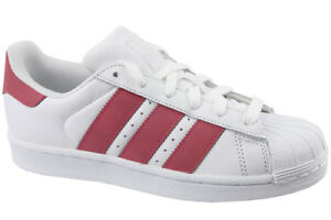 new style d6d8d 194f1 adidas Superstar J White-pink Cq2690 38 White for sale online   eBay