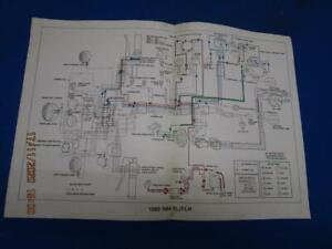 Original Harley-Davidson Wiring Diagram, 1980-1984 FL /FLH Factory A361    eBay   1980 Harley Davidson Flh Wiring Diagram      eBay