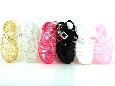 infantil unisex Millie Llano & Purpurina Zapatos de GEL Sandalias verano GB 4-2