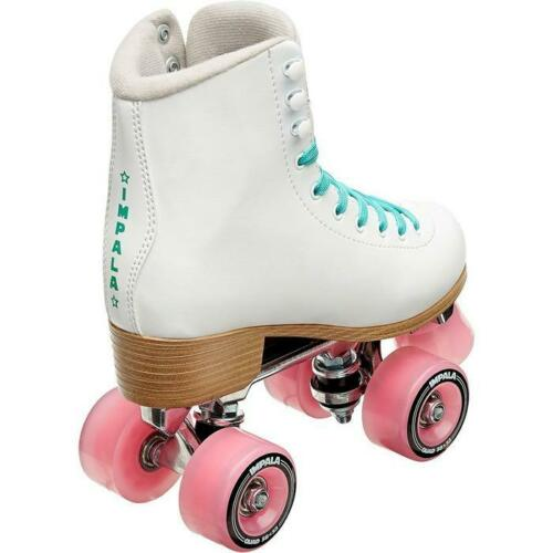 Quad Roller SkatesVegan Size: 5 Impala WomensWhite