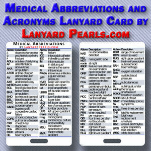 Medical-Abbreviations-and-Acronyms-Lanyard-Badge-Card