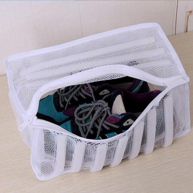 Shuohu Sneaker Tennis Boots Sports Shoes Mesh Laundry Washing Bag Household