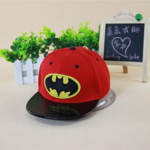 Kids Boy Marvel Superhero Spiderman Baseball Cap Hip-Hop Snapback Sport Sun Hat