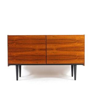 Retro Vintage Danish Rosewood Large Sideboard TV Cabinet 1960s 1970s Mid Century