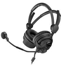 """Sennheiser HMD26-II-600-X3K1 Dual-Sided Broadcast Headset w/ 1/4""""&XLR Connectors"""