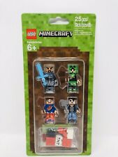 Lego Minecraft Mini Figures Skin Pack 1 /& 2 853609 853610 New Factory Sealed