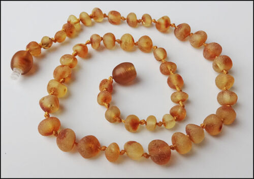 Raw Honney Baltic Amber Baby Necklaces 33cm