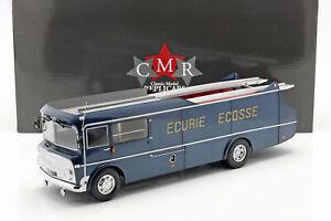 Commer-TS3-Truck-Team-Transporter-Ecurie-Ecosse-1959-blau-metallic-1-18-CMR