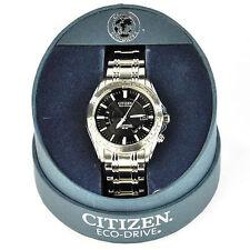 Citizen Eco-Drive Perpetual Atomic Men's Watch, Black DIal, Model: CB0000-57E