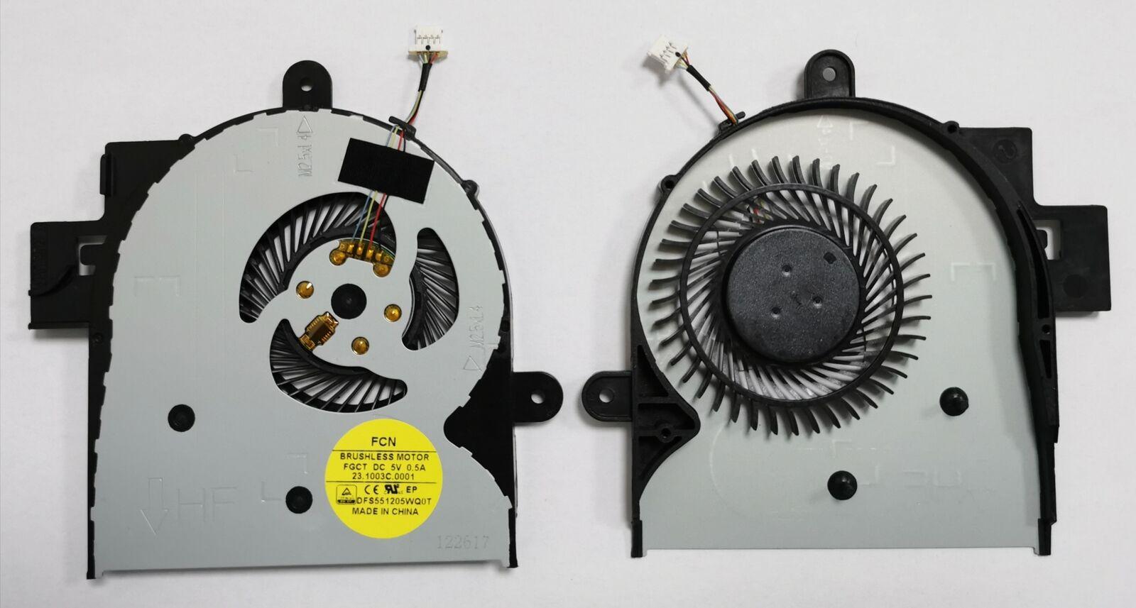 Cooling fan for HP X360 M6-W M6-W102DX M6-W014DX 15-BK
