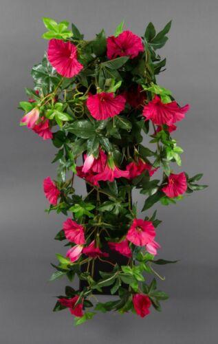 Petunienranke 65cm pink ZF Kunstpflanzen künstliche Petunie Pflanzen Kunstblumen