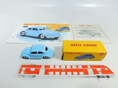 Atlas 1:43 Metall-pkw 181 Volkswagen Beetle 1100 Bw527-0,5 # Dinky Toys s.g