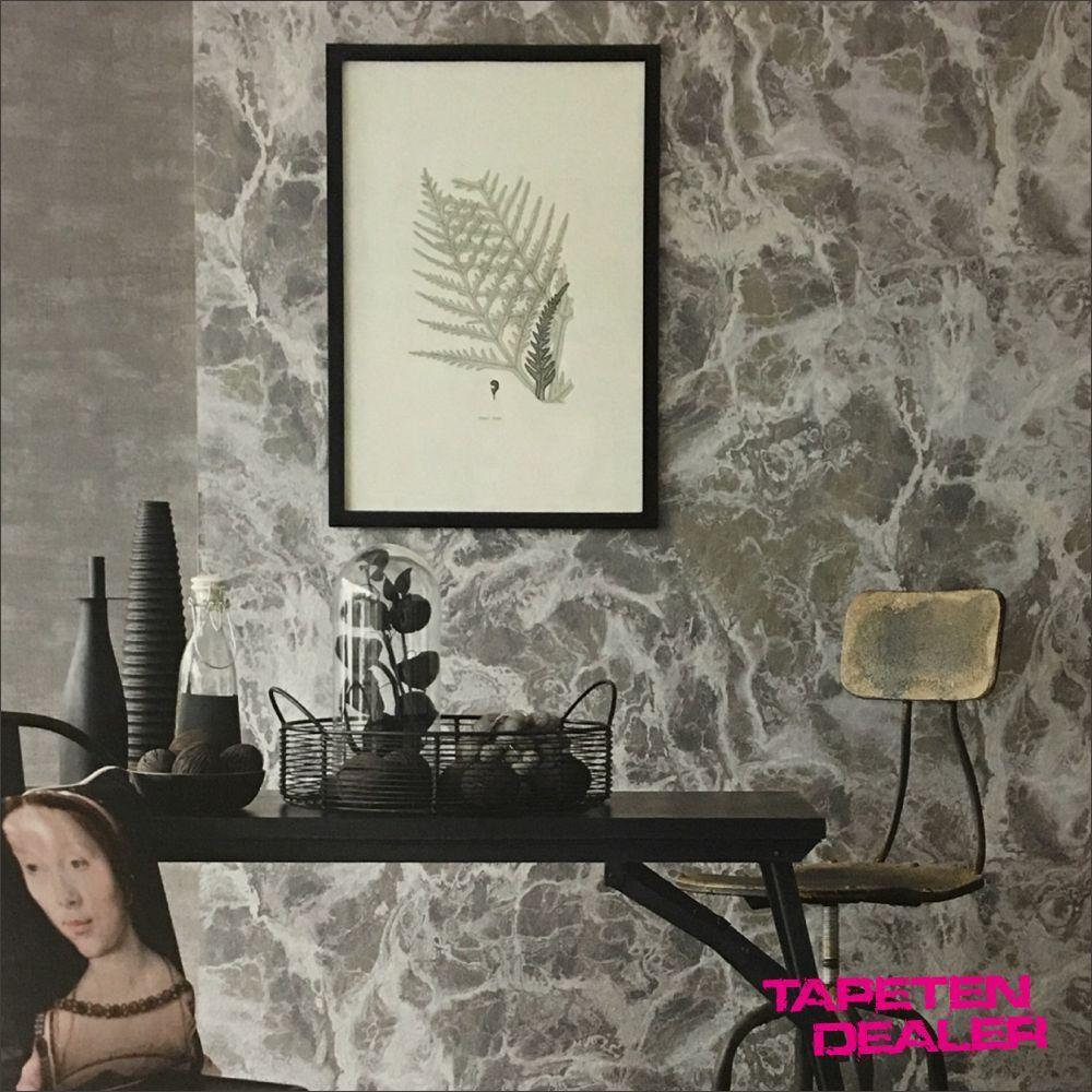 Eijffinger Resource 369158 Wandbild   Betonwand Silber Metallic     qm