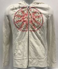 19c8deb3fe42 item 5 Women s Sonoma Life   Style White Zip Up Utility Jacket w  circle  design Size XS -Women s Sonoma Life   Style White Zip Up Utility Jacket w   circle ...
