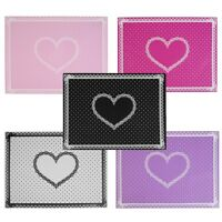 Silicon Lace Polka Dot Heart Pattern Nail Art Table Mat Pad Manicure Clean F7