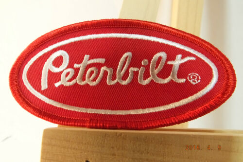Peterbilt Truck Trucking Iron-On Embroidered Patch