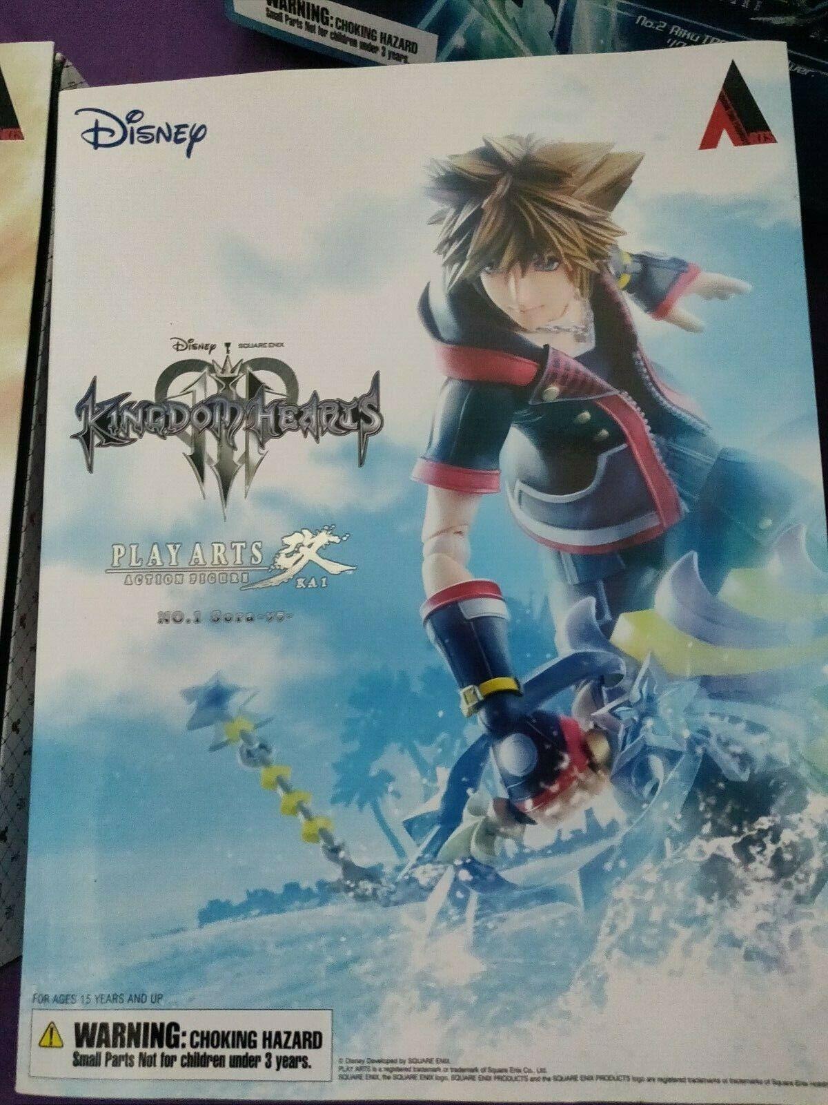 Play Arts Kai no.1 Sora Kingdom Hearts 3 Square Enix 2016
