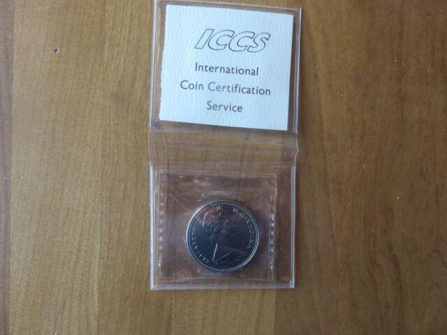 1970 CANADA 1$ DOLLAR ICCS - PL UNCIRCULATED 66