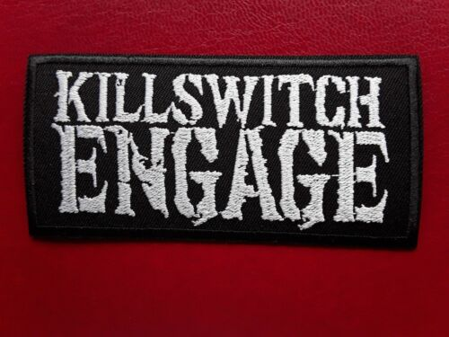 KILLSWITCH ENGAGE AMERICAN HEAVY CORE METAL ROCK MUSIC BAND EMBROIDERED PATCH UK